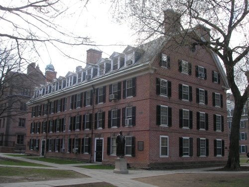 Image of Connecticut Hall, Yale University.
