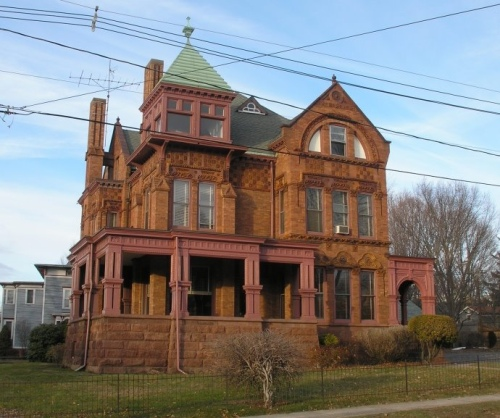 Historic buildings of connecticut blog archive walter Queen anne house
