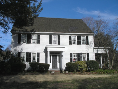 Historic buildings of connecticut east windsor for Allen house