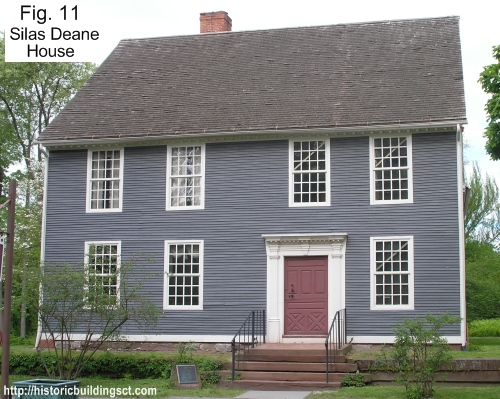 Historic Buildings of Connecticut Colonial Houses Historic