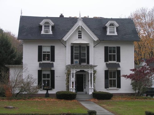 The Julius Gay House (1860). December 9th, 2007 Posted in Farmington, ...