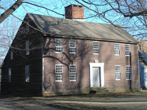 Historic buildings of connecticut blog archive the for New england colonies houses
