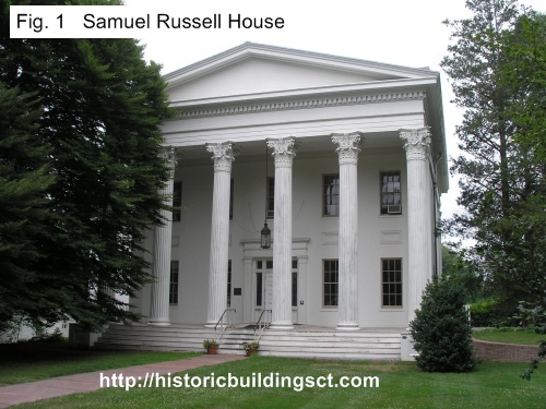 Historic buildings of connecticut greek revival houses for Builders in connecticut