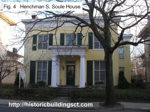 some houses are not very different from the center hall houses of the colonial and federal periods with applied greek revival detailing - Greek Revival Cottage