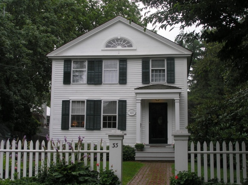 Historic buildings of connecticut old lyme for Old american style houses