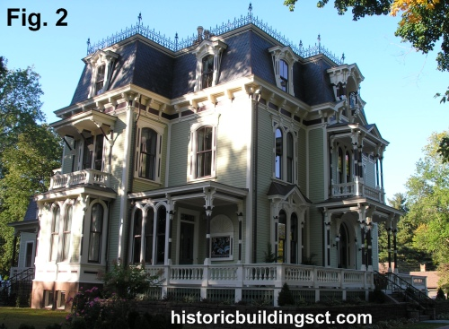 Second empire mansard house style