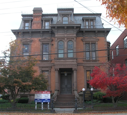 the john c anderson house 1882 historic buildings of connecticut. Black Bedroom Furniture Sets. Home Design Ideas