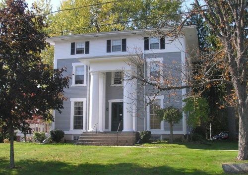 Historic Buildings of Connecticut » Blog Archive The Pillars (1850 ...