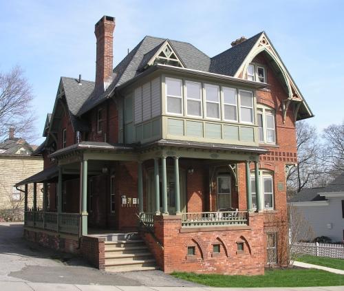 The james abbott house 1875 historic buildings of for Abbott house