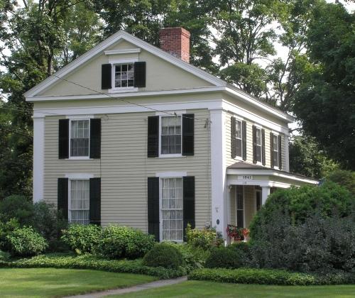 Historic Buildings Of Connecticut 187 Ellington