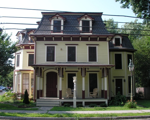 Mansard style houses images galleries for Mansard style homes