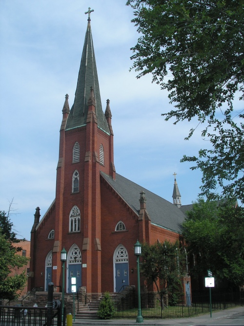 Former Church of the Immaculate Conception, Park Street, Hartford