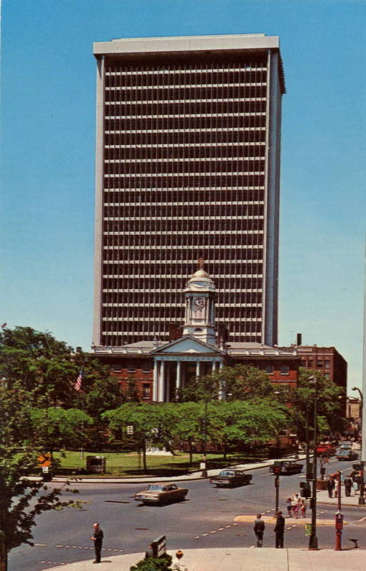 Hartford National Bank Trust Company 1967 Historic Buildings Of Connecticut