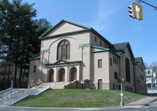 Former First Baptist Church, Waterbury