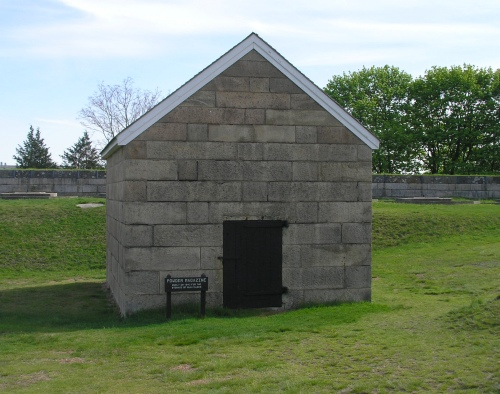 Powder Magazine, Fort Griswold