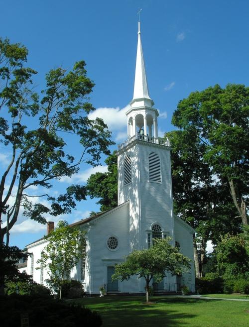 Greenfield Hill Congregational Church (1855)