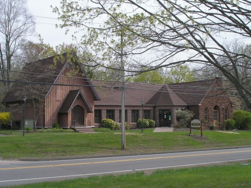 Library Hall and Library in Middlefield