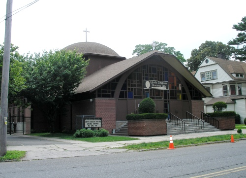 Former St. Dimitrie Romanian Orthodox Church in Bridgeport