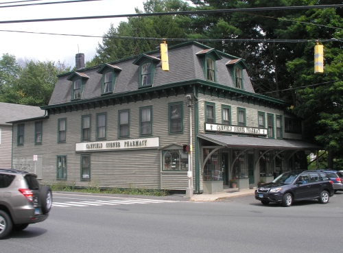 canfield corner pharmacy 1876 historic buildings of connecticut