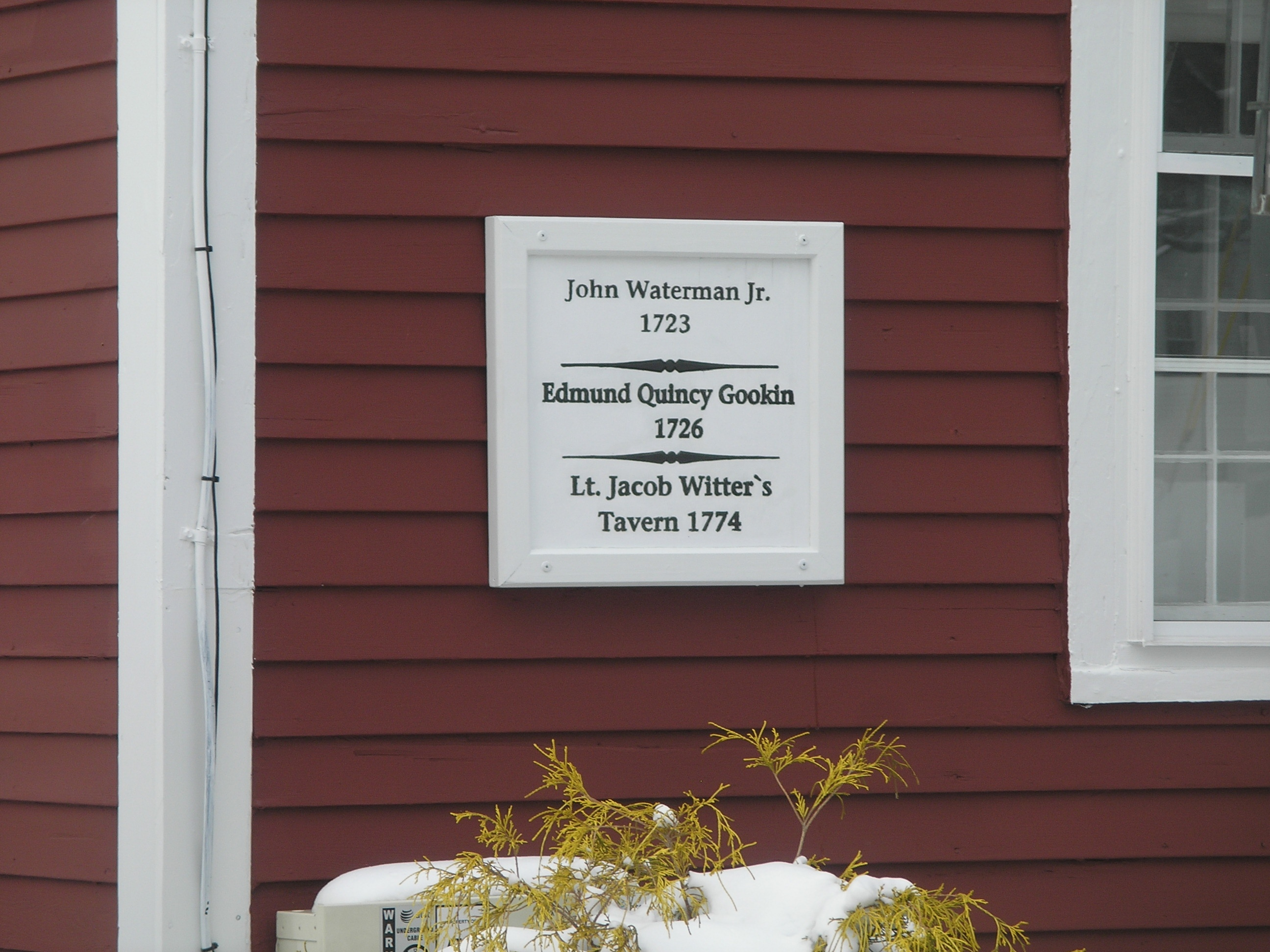 historic buildings of connecticut saltbox a sign