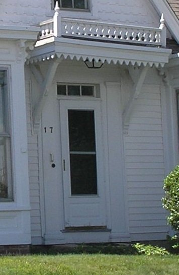 The Doorway Retains The Original Greek Revival Pilasters And Cornice, While  The Rest Of The House Was Later U201cVictorianizedu201d Through The Addition Of Bay  ...