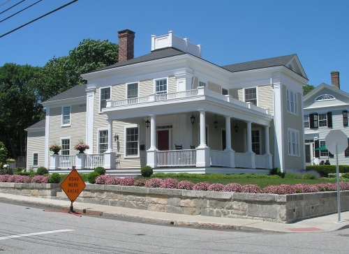 Elegant Amos Clift III (1805 1878), A Local Builder, And His Mother Thankful  Denison Clift (1780 1861). The House At 2 Clift Street, At The Corner Of  Gravel Street, ...