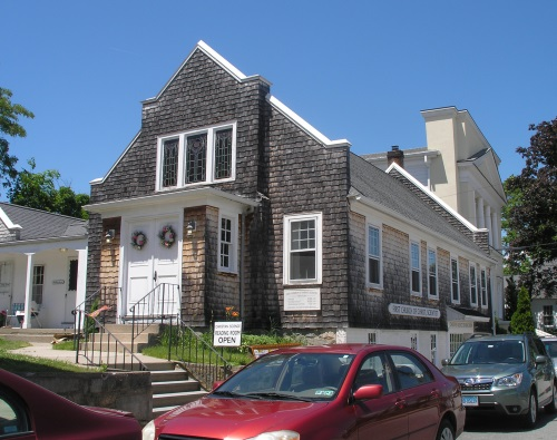 Originally Erected As A House, The Building At 5 Gravel Street In Mystic  Has Been The First Church Of Christ Scientist Since 1914.